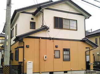 外壁・屋根リフォーム 塗装と設備交換で新築のような外観に