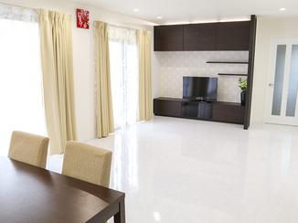 キッチンリフォーム モデルルームのような清潔感のある雰囲気に一新